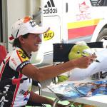 Marga Fullana, en el Campeonato de España de ciclocross