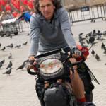 El Biciclown desde Nepal, 1.505 días y más de 56.000 km en bici