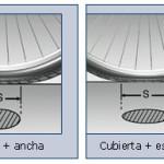¿Una rueda de cubierta ancha puede rodar mejor que otra con neumático más estrecho?