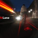 LightLane. Un carril bici virtual para circular más seguro de noche