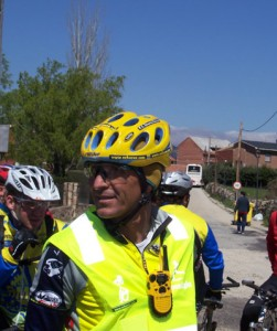 Eduardo Chozas organizando