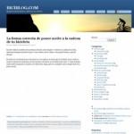Nuevo diseño biciblog