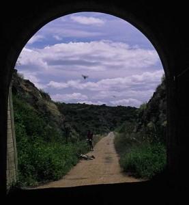 Túnel vía verde