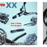 SRAM XX. 2×10 velocidades en bicicletas de mountain bike