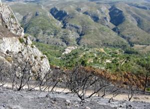 fuego Vall d'Alcala