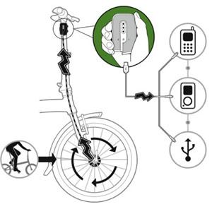 Biologic FreeCharge, acumulador-cargador de energía mientras pedaleas