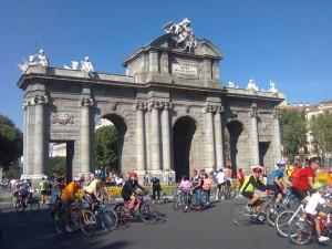 Día de la Bici en Madrid