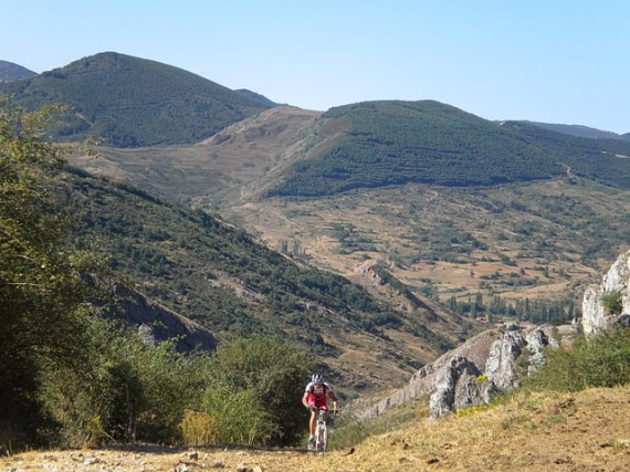 Las montañas de Pedales de León