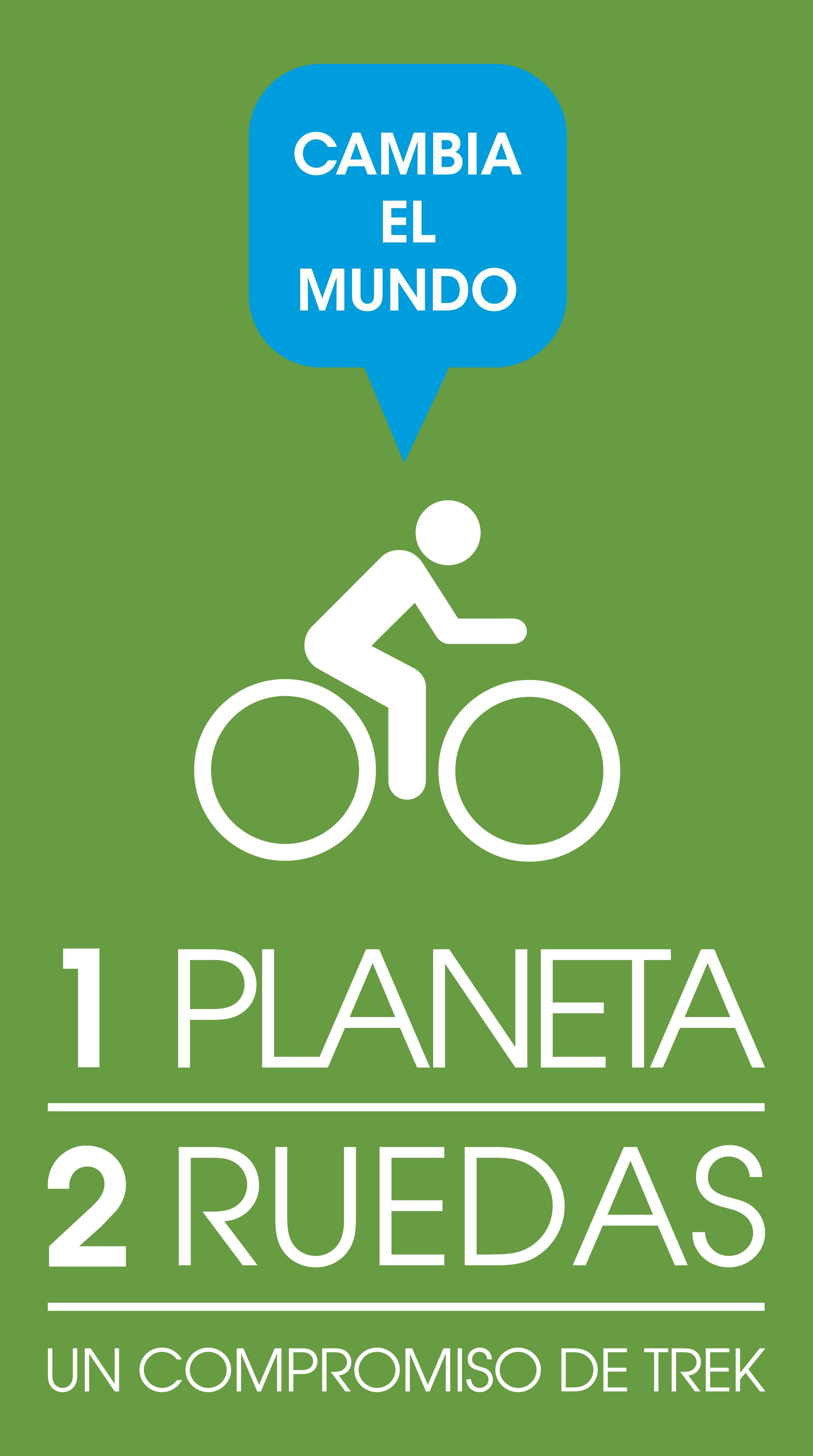 Muévete en bici, por el bien de todos. 1 Planeta 2 Ruedas