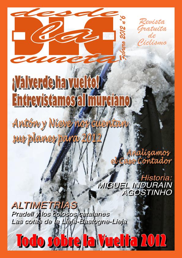 Disponible el sexto número de la revista digital Desde la Cuneta