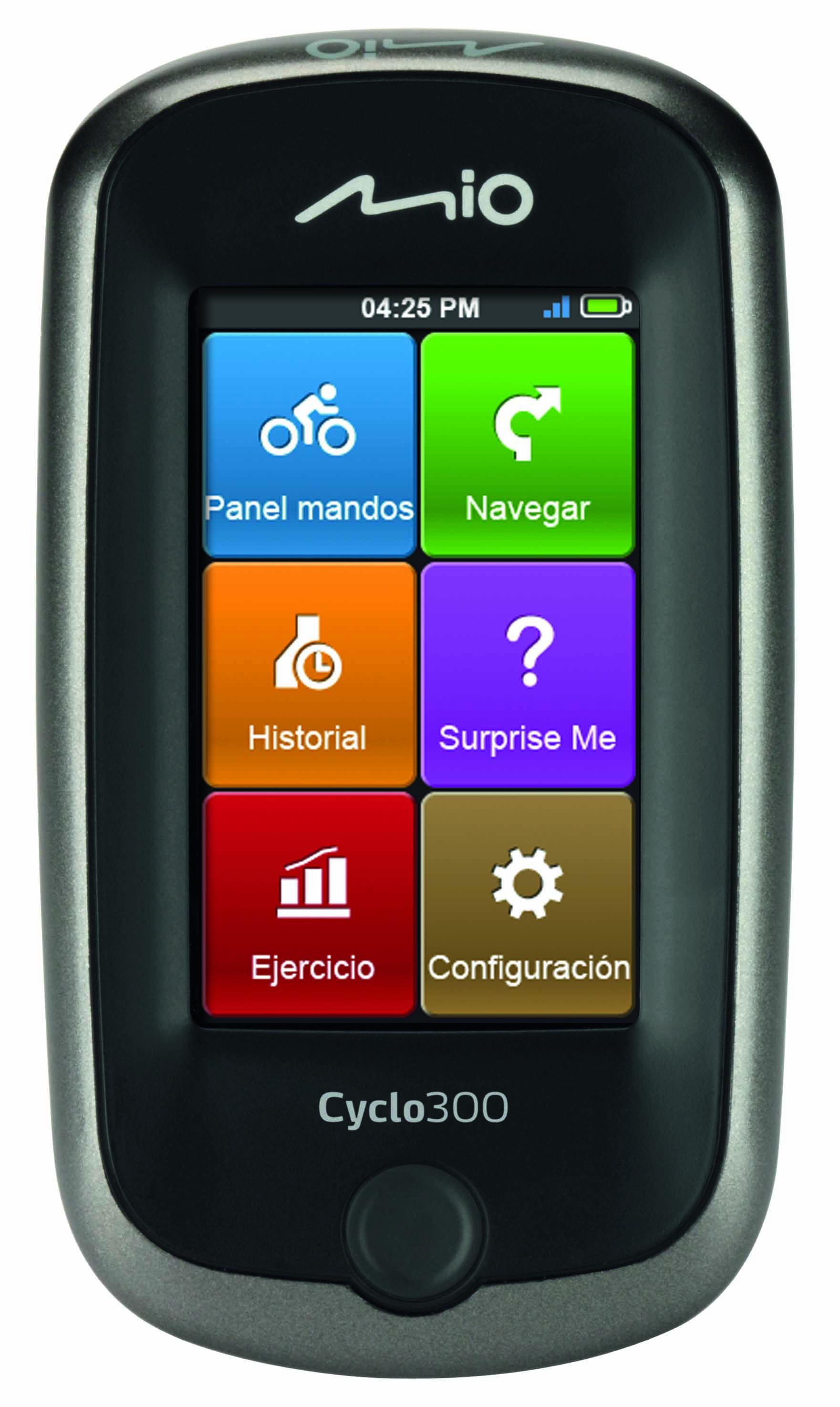 Navegación GPS al alcance de todos los ciclistas. Mio Cyclo Series
