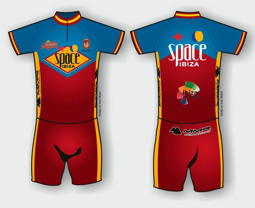 Maillot oficial XIII Vuelta a Ibiza BTT 2013
