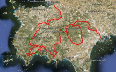 Recorridos XIII Vuelta Ibiza BTT 2013